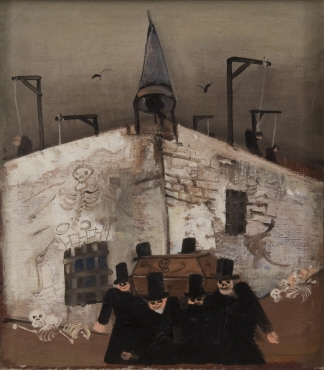 Gallow Painting (Funeral)