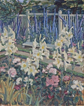 Lilies in the Garden of Muthesius