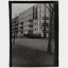 Zille's residence, corner of Sophie-Charlotte-Straße/Knobelsdorffstraße, turn of the year 1897/1898