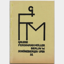 Catalogues and Pieces of Printed Matter	 in the Documentary Estate of Ferdinand Möller