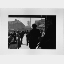 Untitled (View of Alexanderplatz from a Bar)