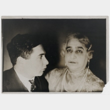 Untitled (Ruth's Mother and Hermann? Landshoff)