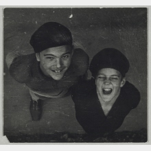 Untitled (Sophie Lissitzky-Küppers' Sons Kurt and Hans)