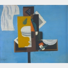 Composition, Constructivist Still Life